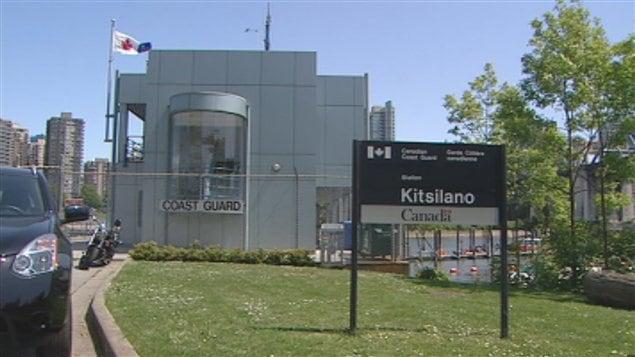 centre de communication de la garde côtière Kitsilano