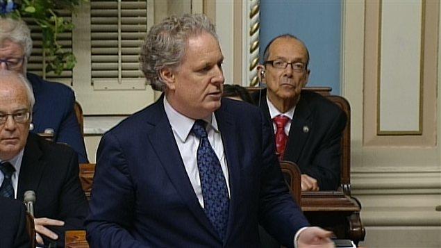 Le premier ministre du Québec, Jean Charest