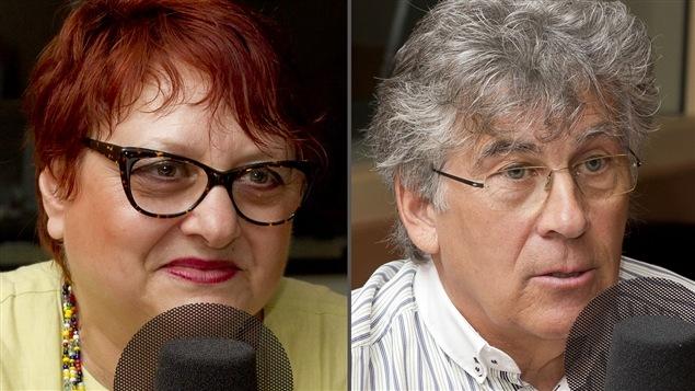 ©Radio-Canada/Christian Côté   <b>Josyane Franc et Michel Archambault</b>