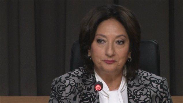 La commissaire Charbonneau