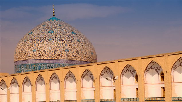 La mosquée du Sheikh Lutfallah, à Ispahan