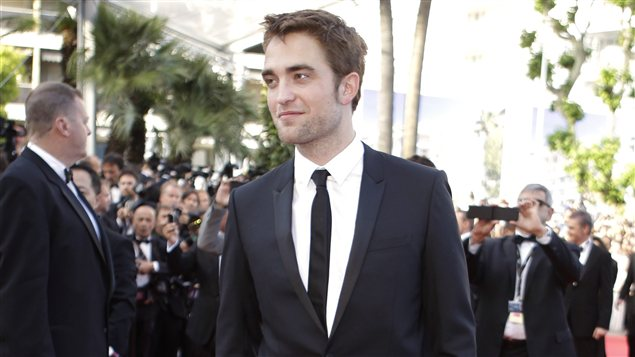 Robert Pattinson à la première de <i>On the road</i>.