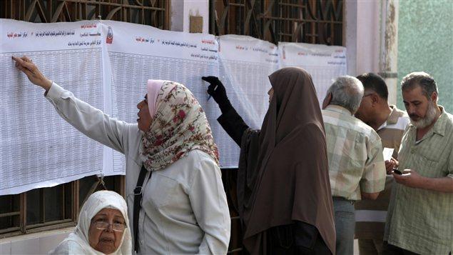 Les Égyptiens ont commencé à voter au Caire pour désigner un successeur au président déchu Hosni Moubarak.
