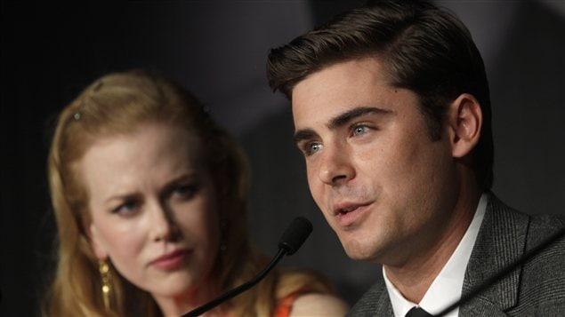 Zac Efron et Nicole Kidman à Cannes