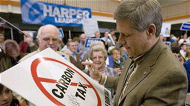 Stephen Harper le 13 octobre 2008