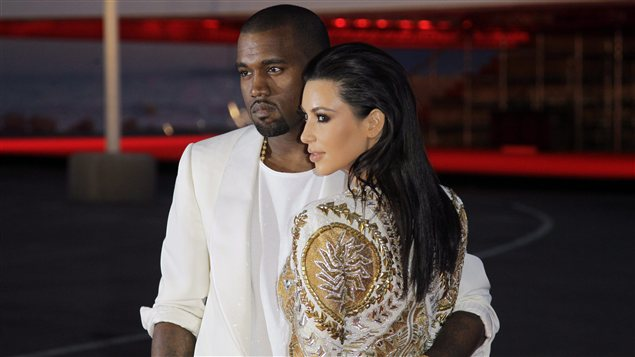 Kanye West et Kim Kardashian à Cannes