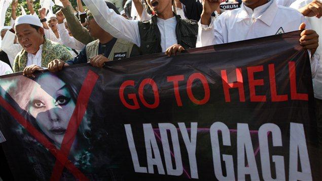 Des Indonésiens s'opposent à la venue de Lady Gaga dans leur pays