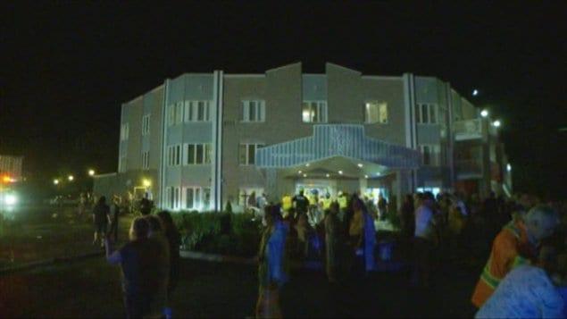 Un incendie s'est déclaré dans la résidence Place Mont-Roc à Hawkesbury.