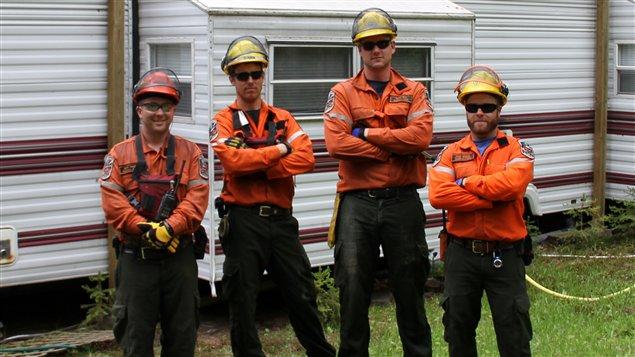 Pompiers forestiers de la région de Sudbury