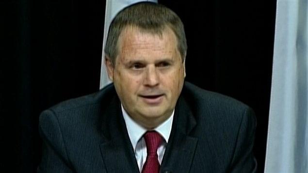 Le vérificateur général par intérim du Québec, Michel Samson