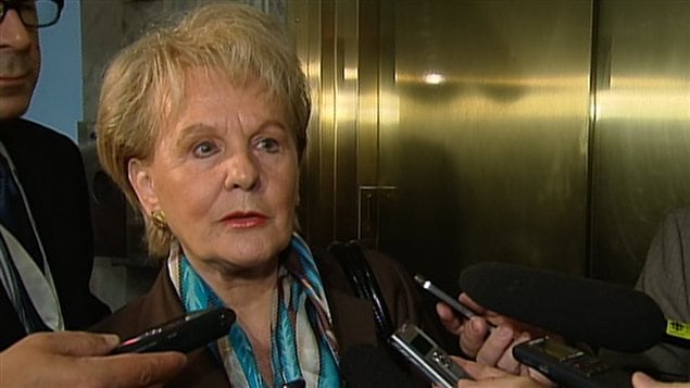 La ministre des Relations internationales du Québec, Monique Gagnon-Tremblay
