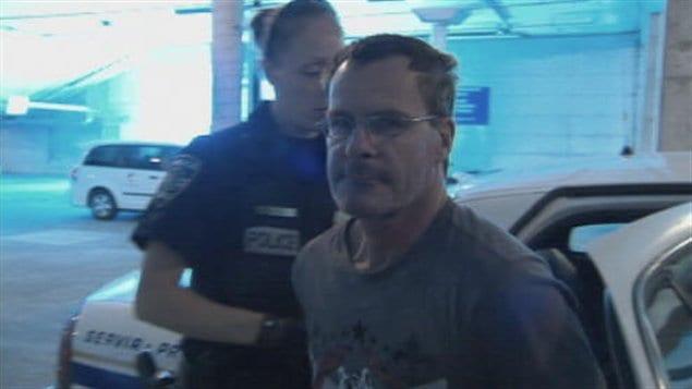 Le suspect dans l'affaire des seringues à Sherbrooke, Claude Létourneau