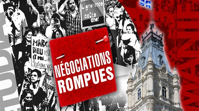 Les négociations sont rompues à Québec.
