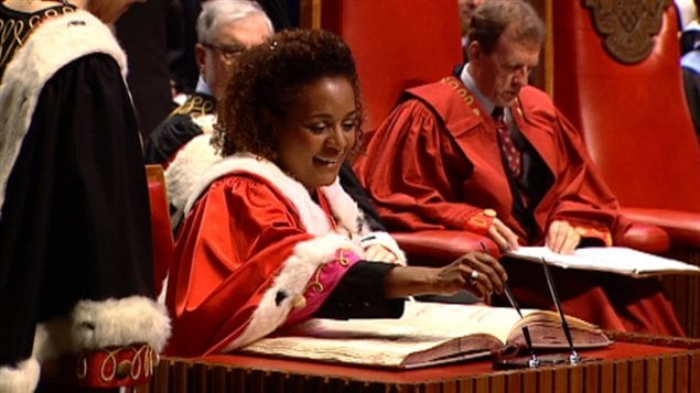 Michaëlle Jean est devenue officiellement la chancelière de l'Université d'Ottawa.