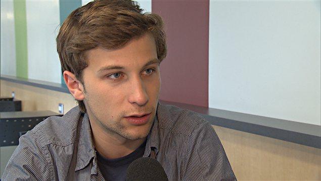Gabriel Nadeau-Dubois, coporte-parole de la CLASSE
