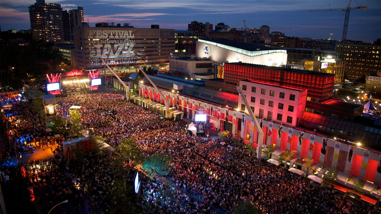 Le Festival International de Jazz de Montréal