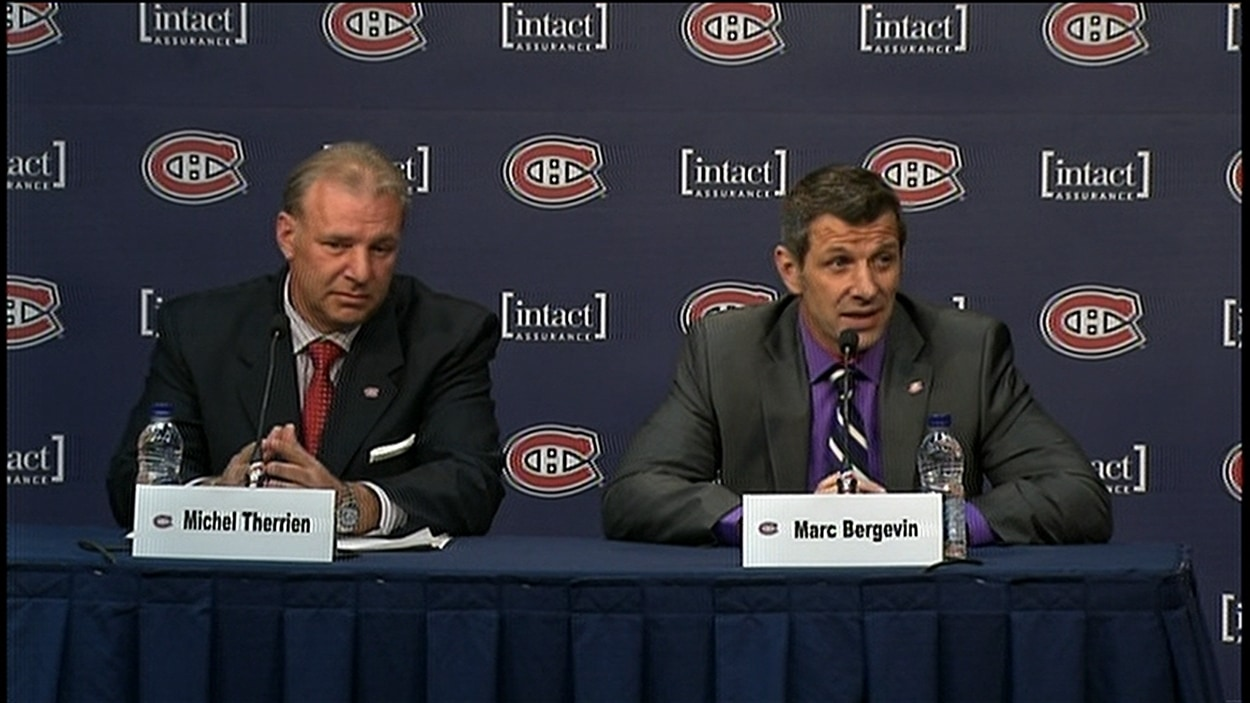 Michel Therrien et Marc Bergevin