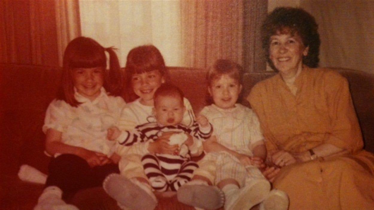 Grand-mère de Stéphanie Plamondon et petits-enfants