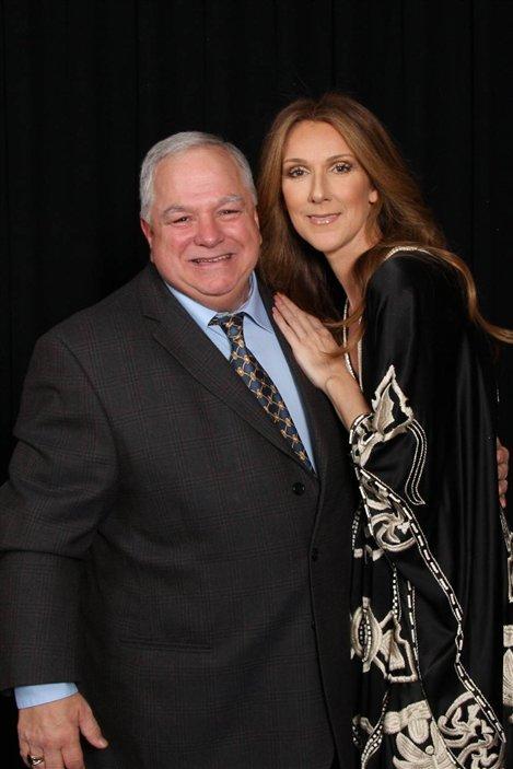 Robert Michaud et Céline Dion