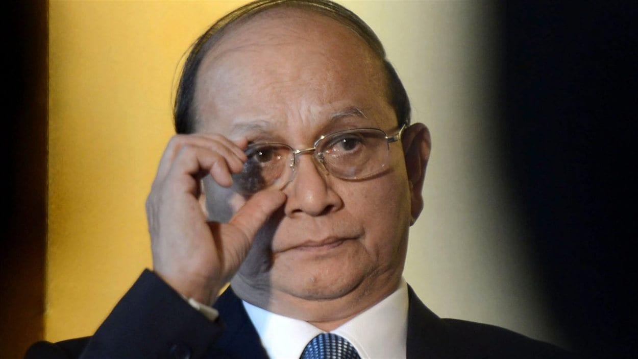 Le président birman, Thein Sein (archives)
