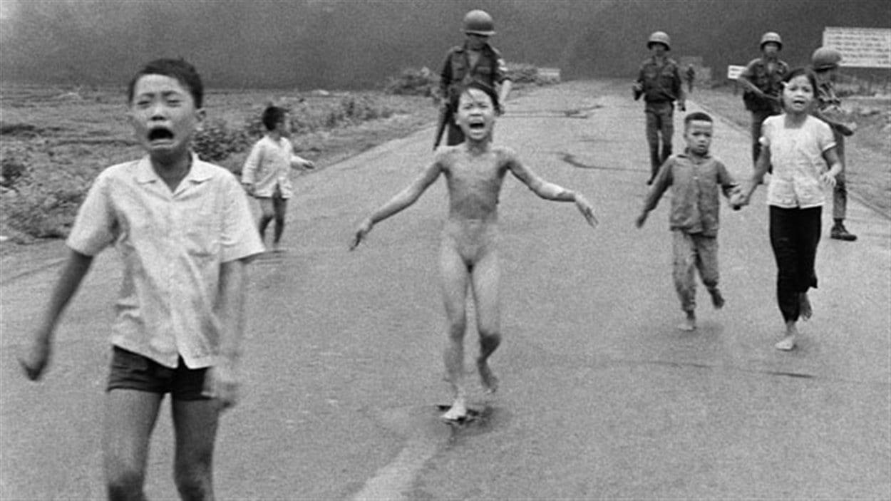 La fameuse photo prise le 8 juin 1972