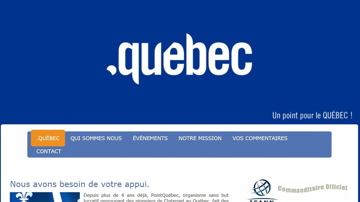 Image du site pointquebec.org