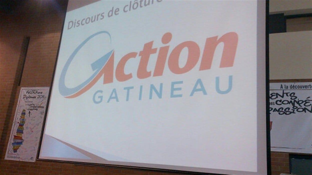 Le nouveau logo d'Action Gatineau