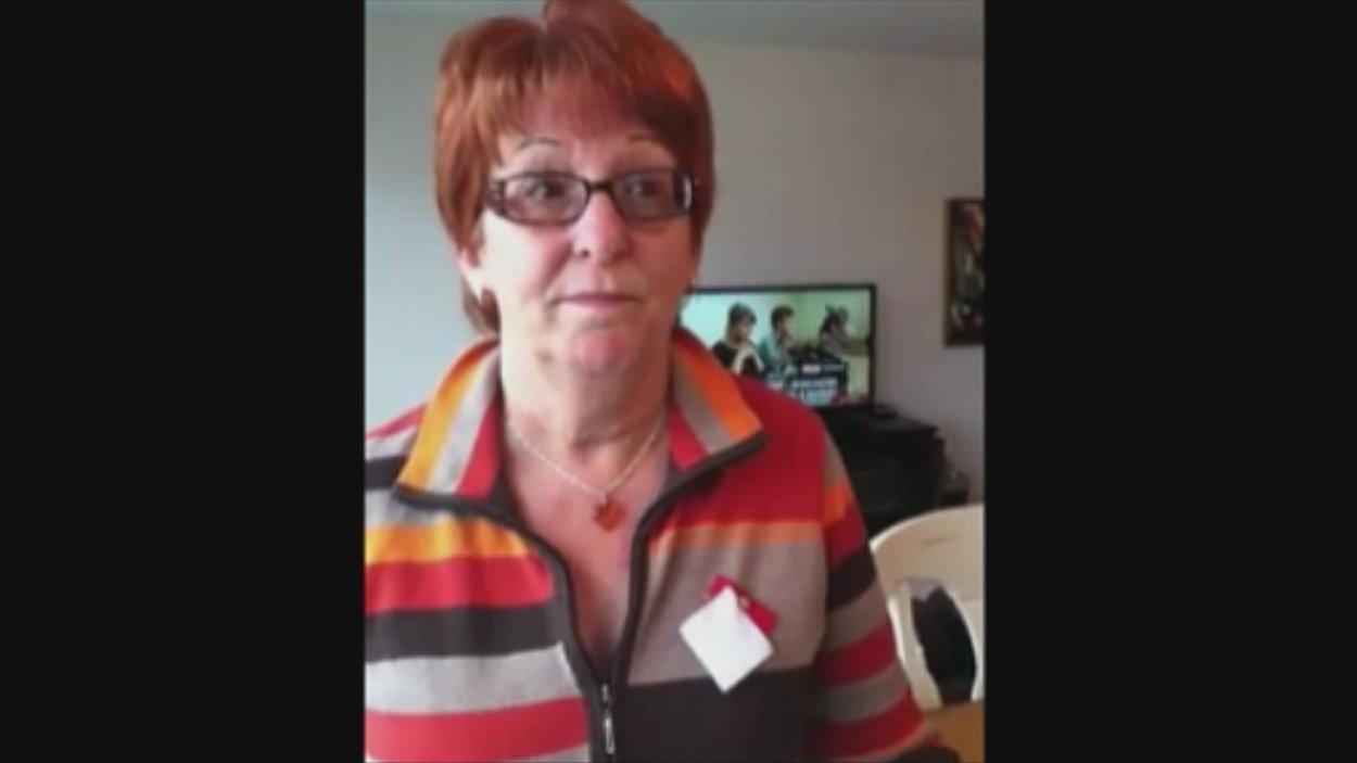 Noëlla Harvey a enregistré une vidéo sur You Tube pour parler de la crise étudiante.