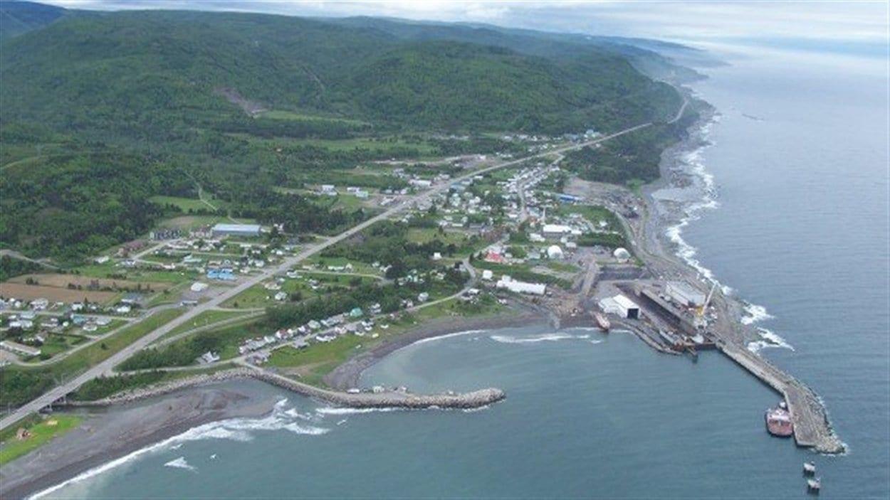 Municipalité Les Méchins, en Gaspésie