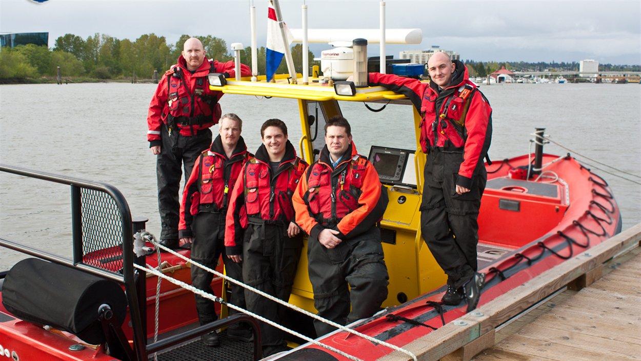 bénévoles de l'équipe de recherche et de sauvetage