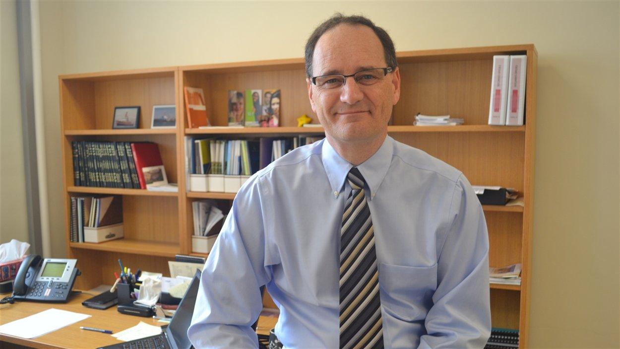 Le recteur de l'UQAR Jean-Pierre Ouellet