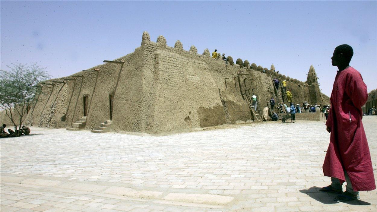 La grande mosquée Djingareyber de Tombouctou.