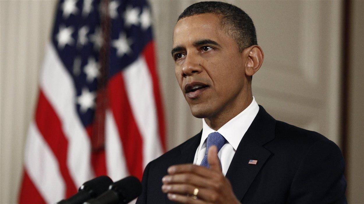 Barack Obama réagissant à la décision de la Cour suprême.