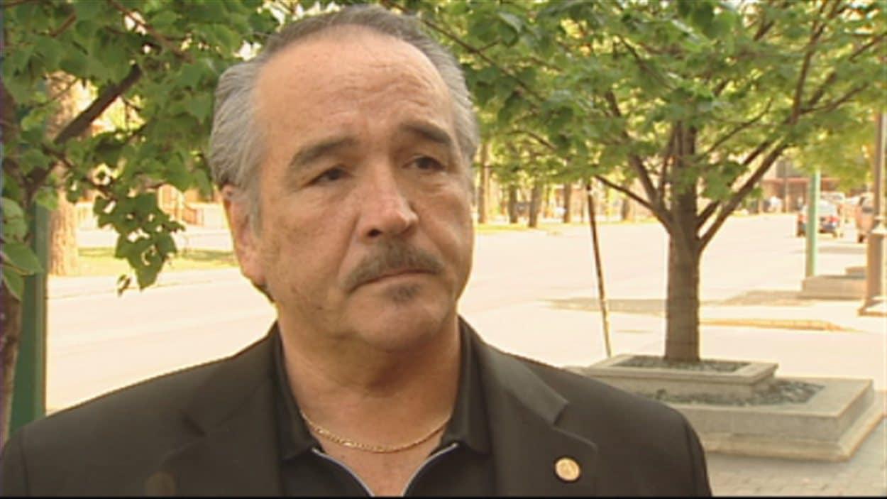 Dwight Dorey, vice-chef national du Congrès des peuples autochtones