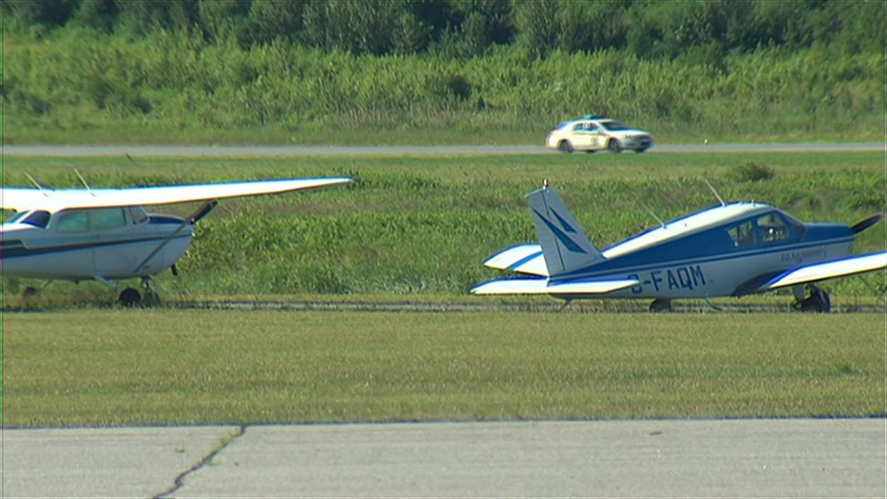 Aéroport de Sherbrooke.