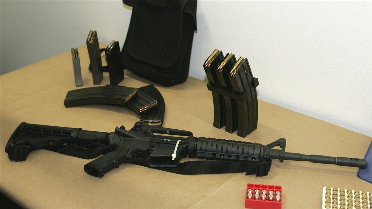 Arme de combat de type AR-15