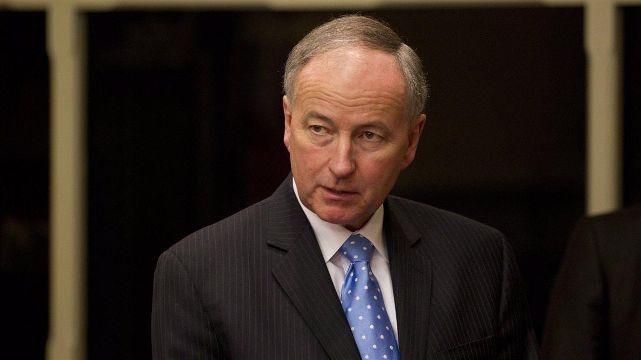 ministre de la Justice, Rob Nicholson