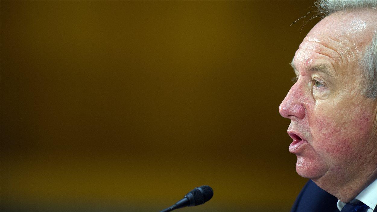 David Bagley, responsable chargé du respect des réglementations de la banque HSBC.