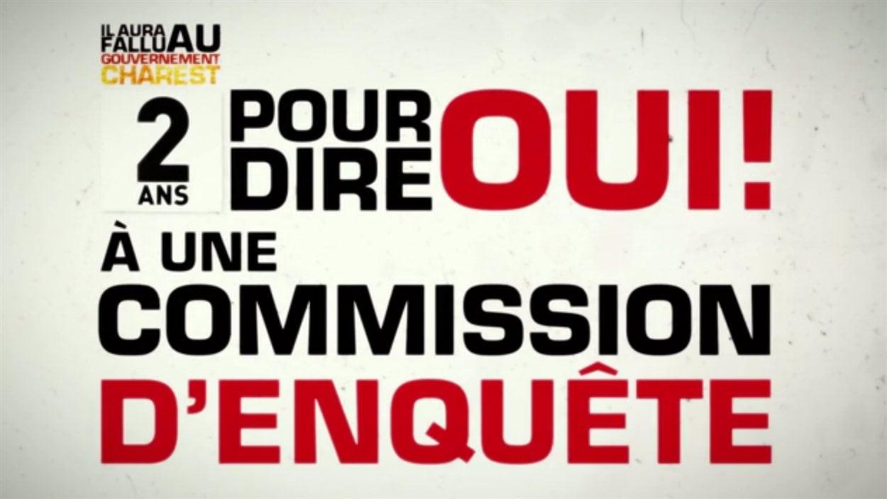 Image tirée de la publicité web de la CSN
