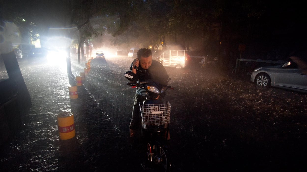 Inondations à Pékin