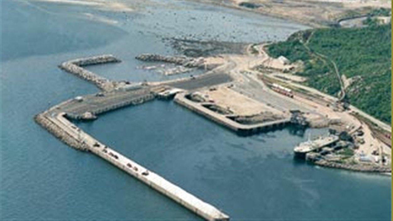 Le port de Baie-Comeau