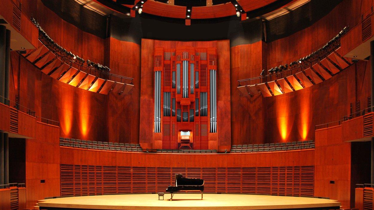 La Société du Palais Montcalm pourra doter la salle Raoul-Jobin d'un grand orgue de concert.