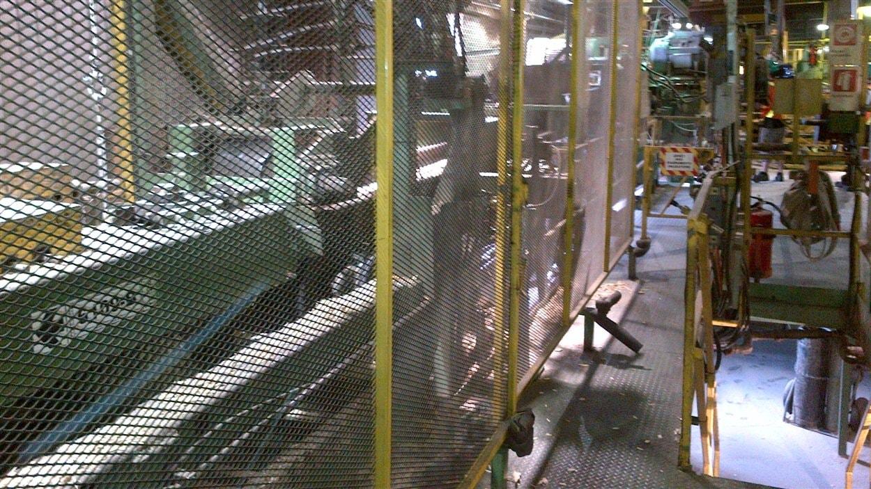 Les installations l'usine de Girardville
