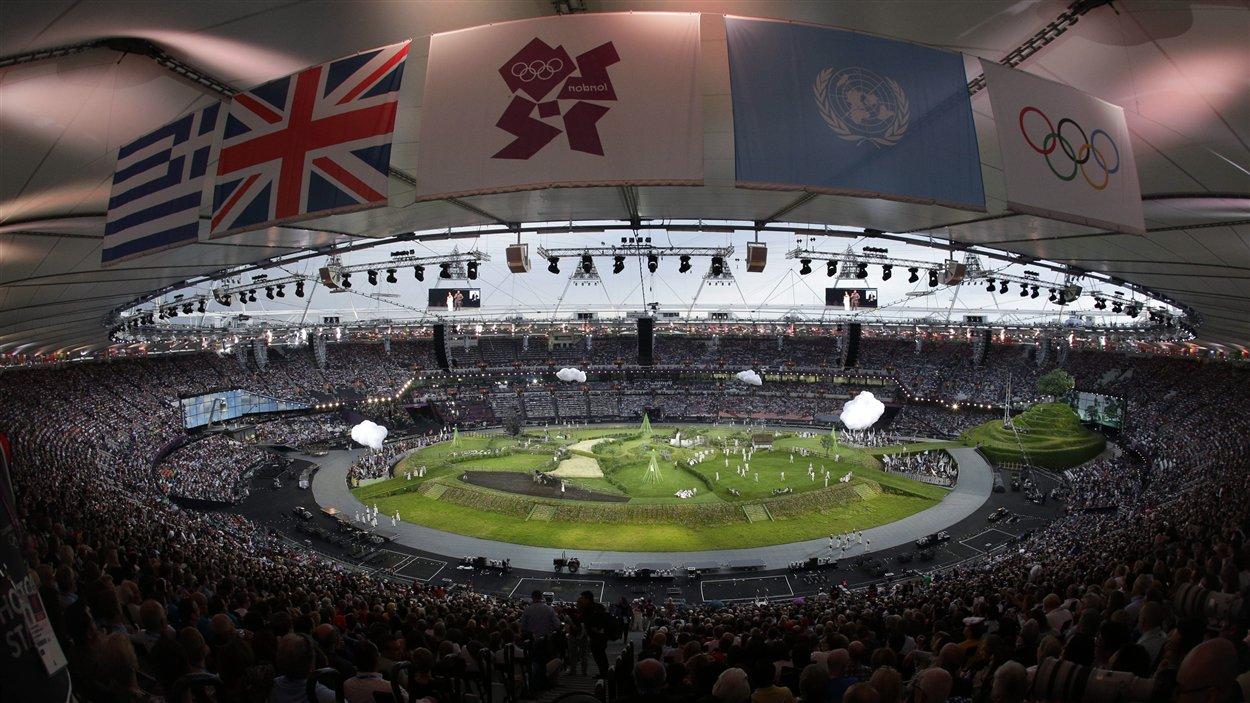 La cérémonie d'ouverture des Jeux olympiques de Londres