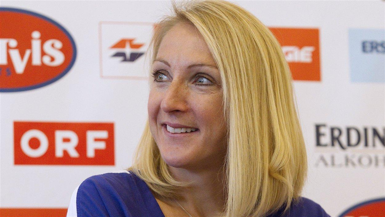 La marathonienne britannique Paula Radcliffe