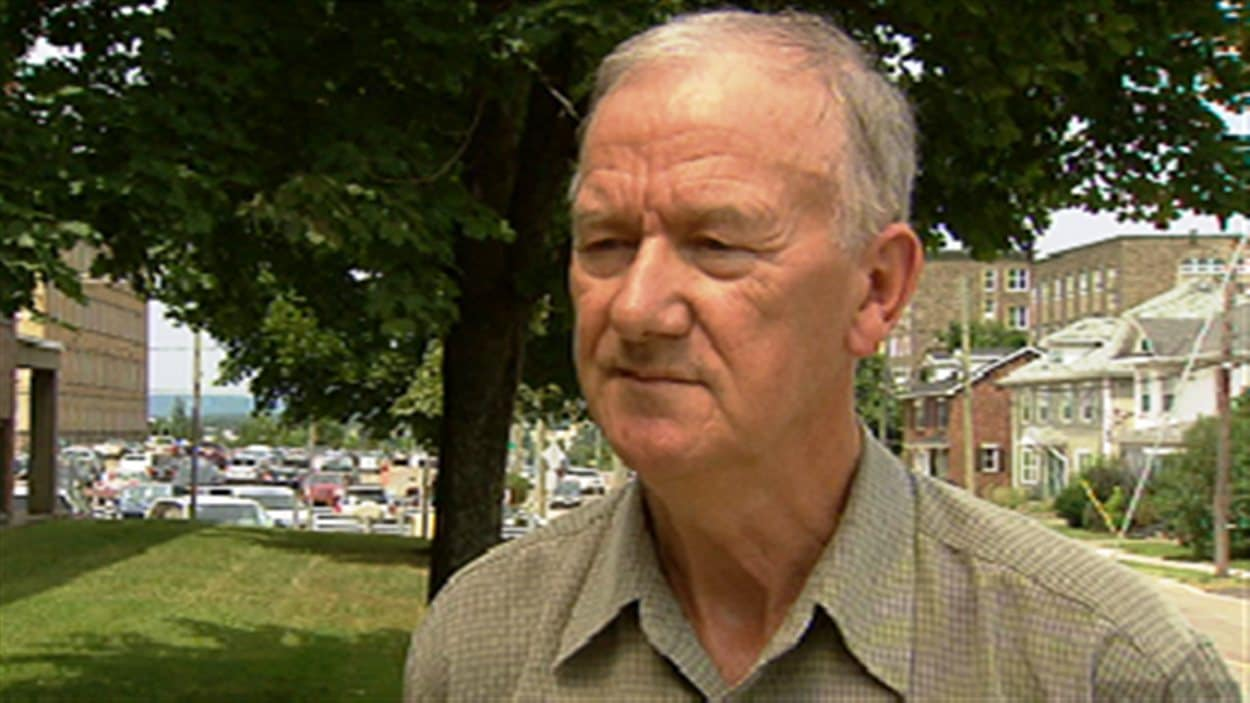 Gilles Haché, directeur de l'hebdomadaire le Moniteur acadien