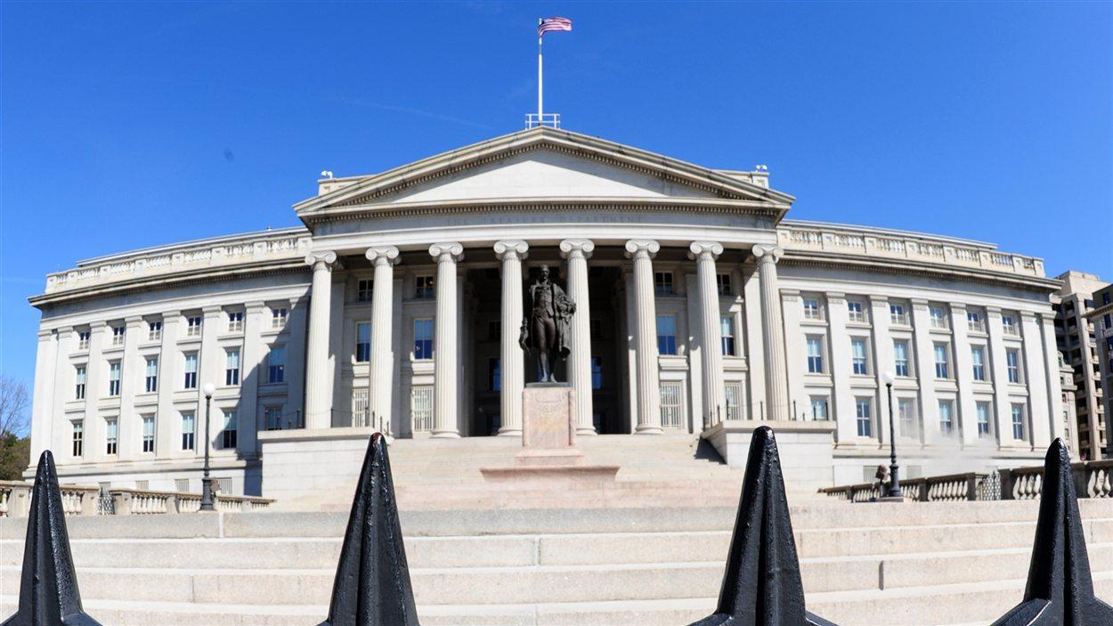 L'édifice du Trésor américain, à Washington (archives)