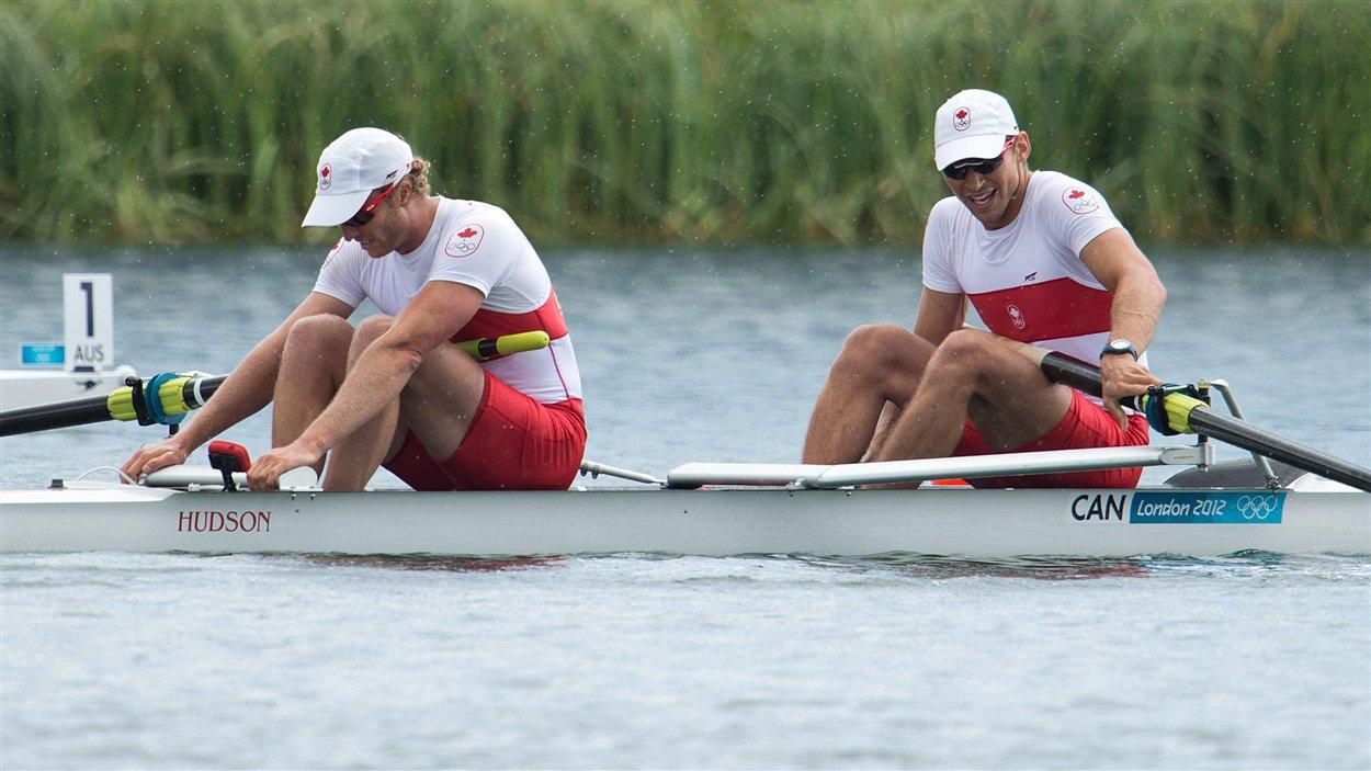 Scott Frandsen (devant) et David Calder