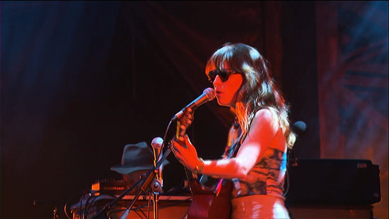 La chanteuse canadienne Feist à Osheaga