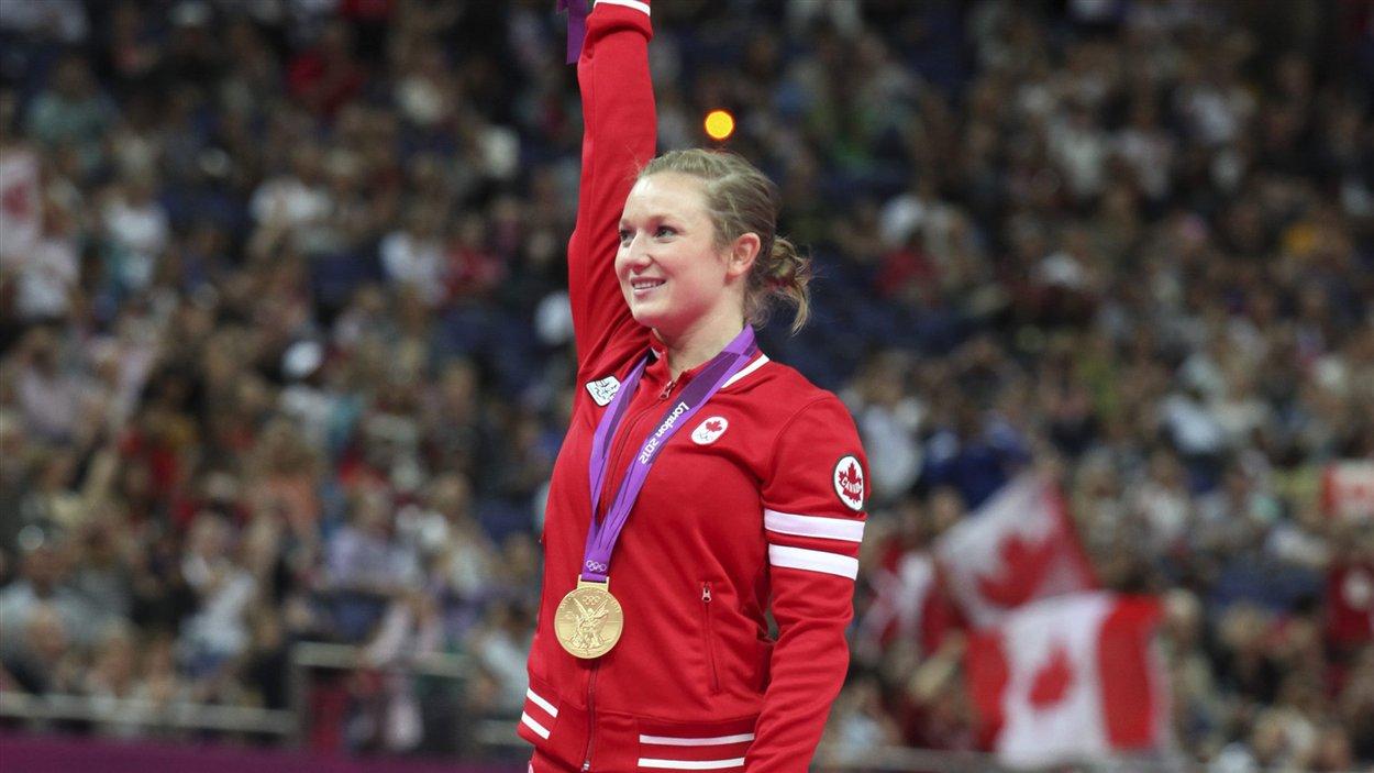 La première médaille d'or du Canada : Rosie MacLennan